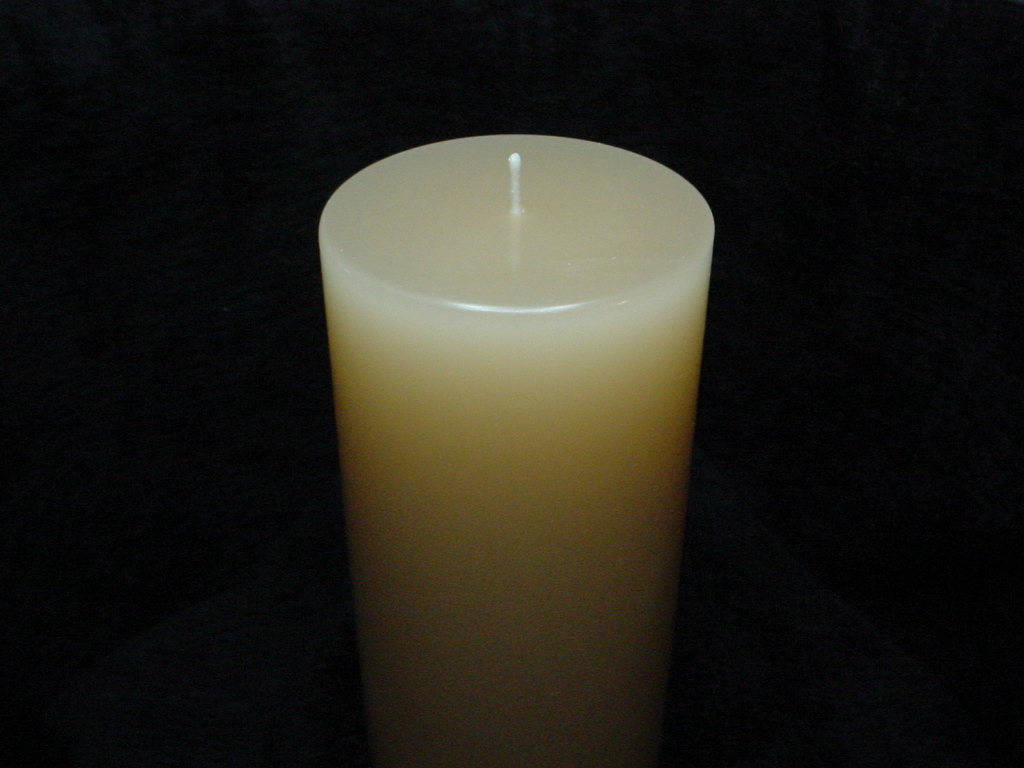 monogrammed unity candles